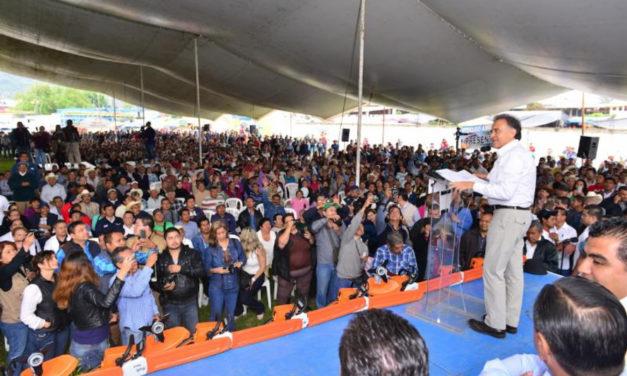 Todo el apoyo de mi gobierno a la actividad citrícola: Gobernador Yunes