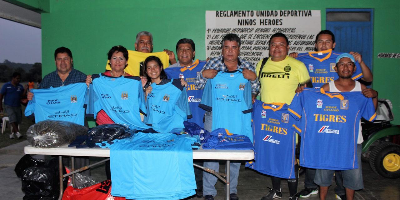 Alcalde incentiva a deportistas veteranos