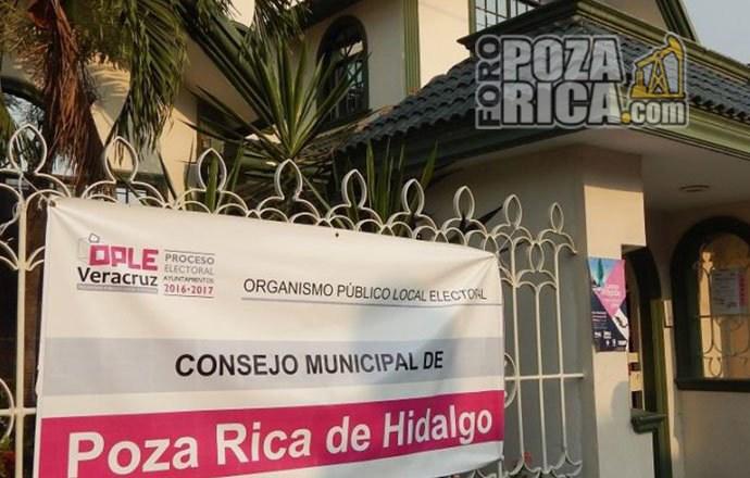 Atraso en el arribo de boletas electorales a Poza Rica