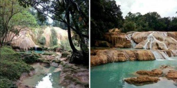 Desaparecen las cascadas de Agua Azul.