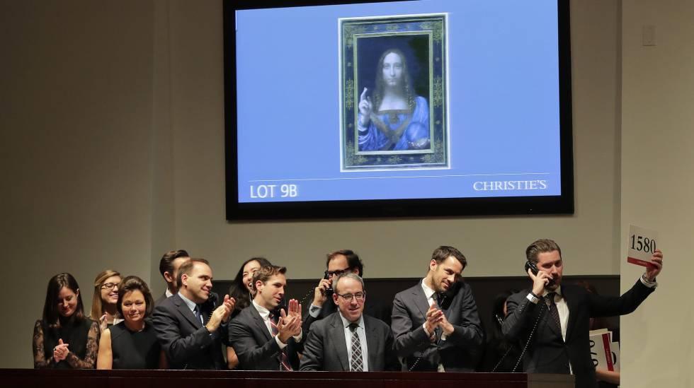 Cuadro atribuido a Leonardo da Vinci se convierte en el más caro de la historia