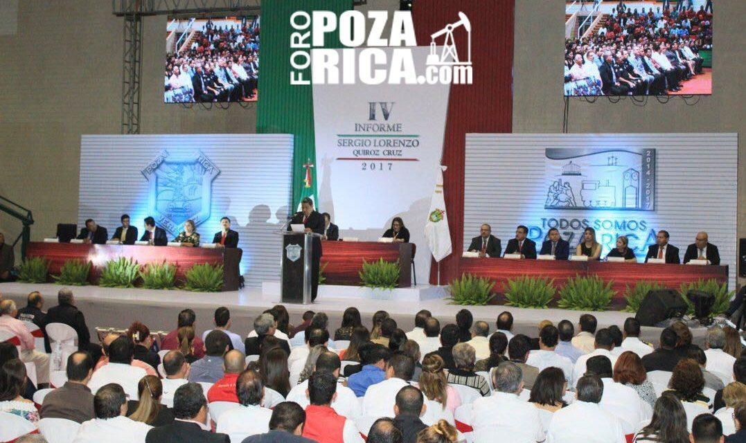 Todos somos Poza Rica: 4° des-informe de gobierno