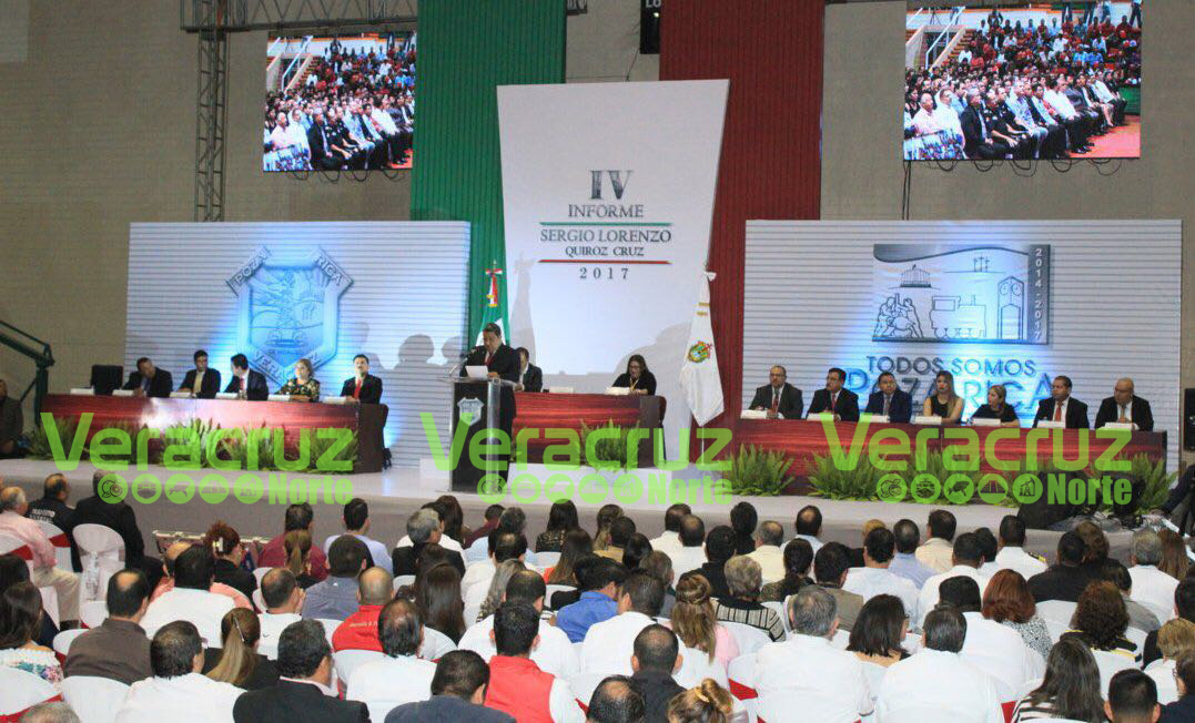 Plagado de Mentiras y Demagogia rinde último informe de Gobierno SLQC en Poza Rica