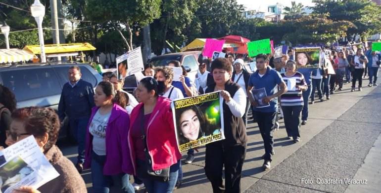 Protestan por desaparición de estudiante en Poza Rica