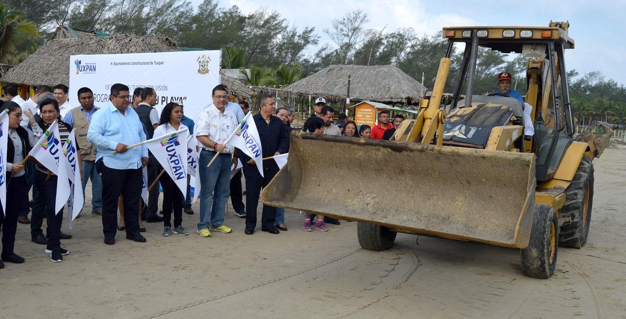 Playas limpias durante todo el año: Tuxpan