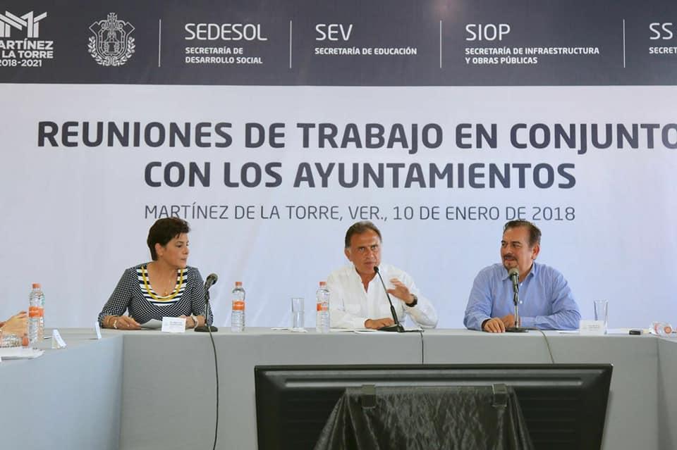 Realiza el Gobernador Yunes intensa gira de trabajo por la zona centro y norte de Veracruz: Regional