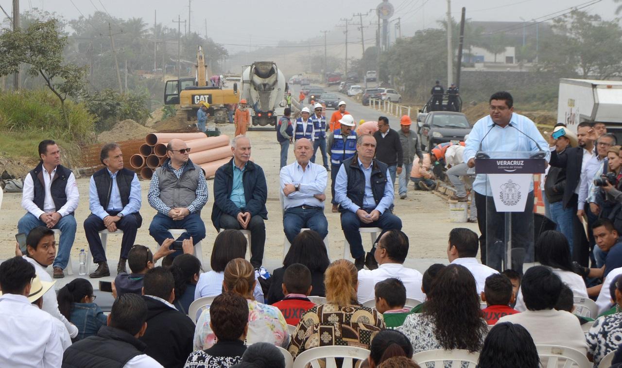 El libramiento ya es una realidad: Tuxpan