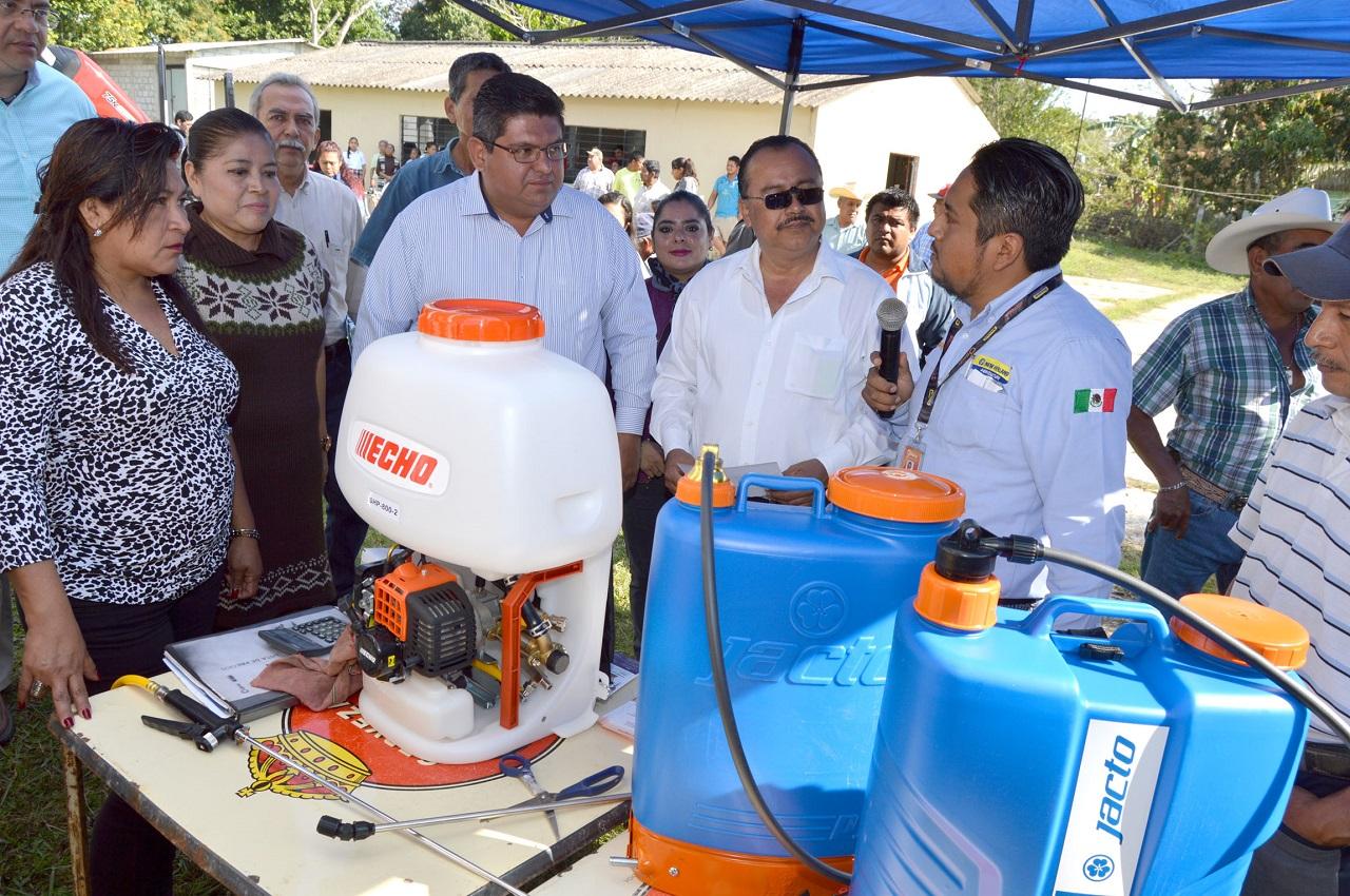 Prioridad al campo y gobierno cercano: Tuxpan