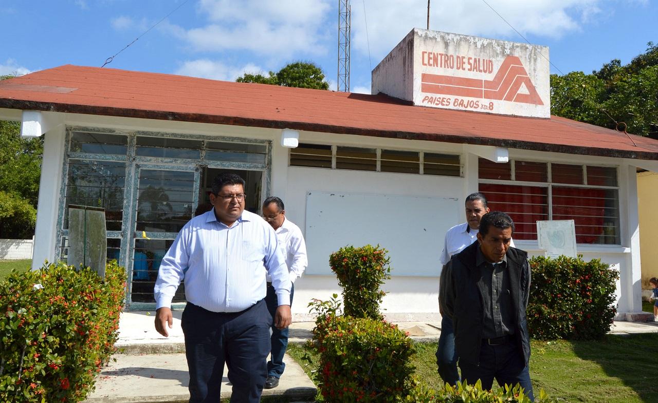 Atiende Alcalde petición de Centro de Salud: Tuxpan