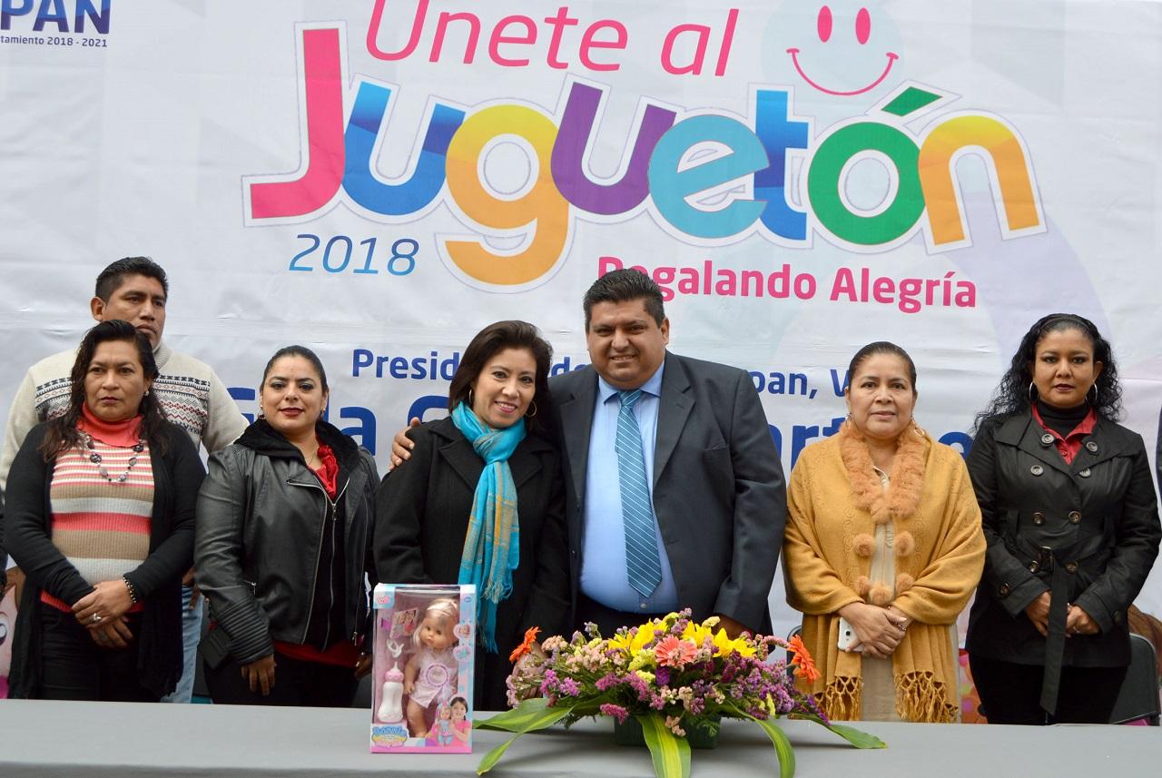 Arranca Juguetón 2018 en Tuxpan