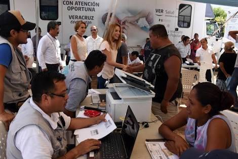 Este lunes 15, del presente mes, inician las jornadas de salud permaneciendo dos semanas en la ciudad: Tuxpan