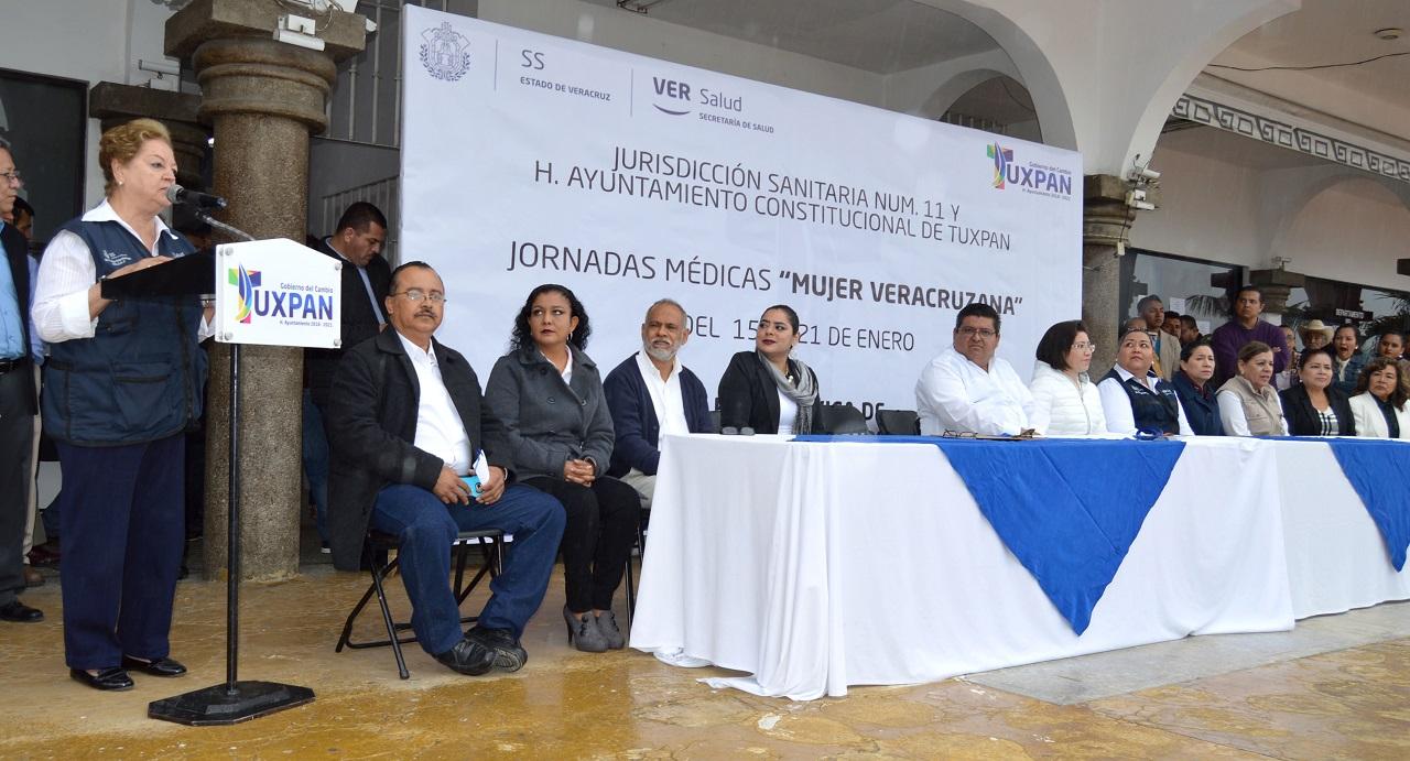 "Inician Jornadas Médicas ""Mujer Veracruzana"": Tuxpan"