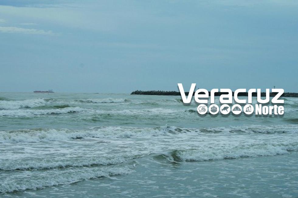 Alerta gris por ingreso de frente frío 40 en Veracruz