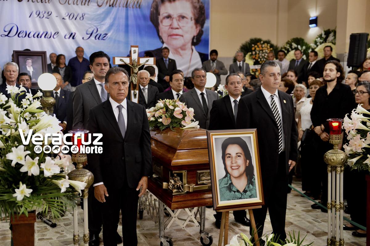 Mensaje del Gobernador del Estado, en el homenaje póstumo a la profesora Acela Servín Murrieta