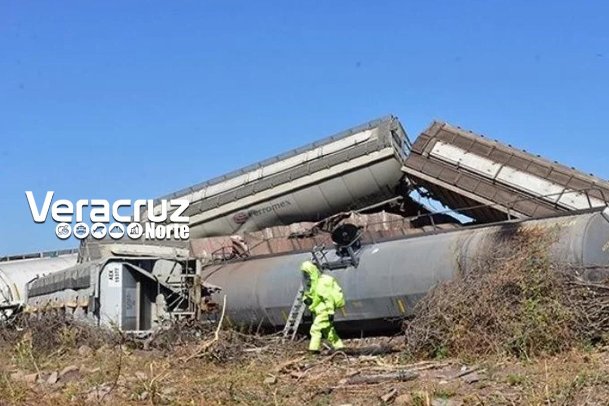 Descarrilamiento en el estado de Aguascalientes no fue derivado de un choque entre dos trenes