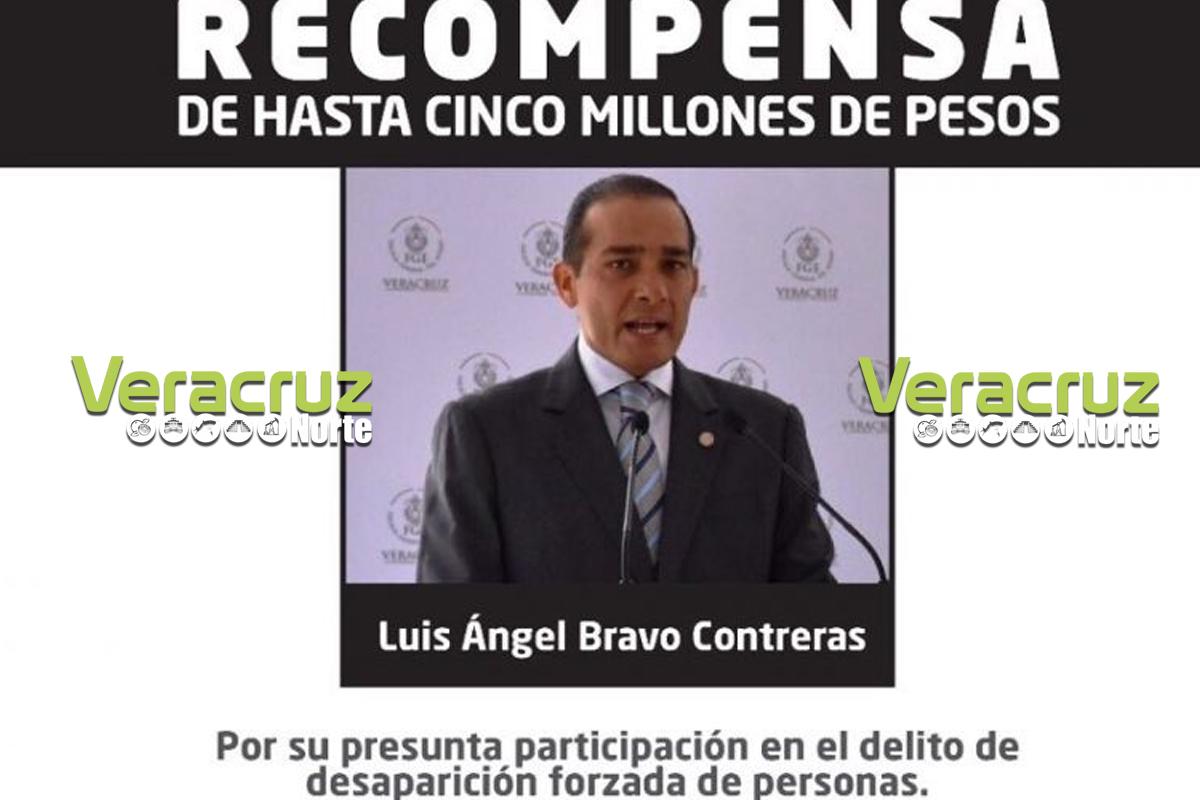 Recompensa de hasta 5 millones de pesos por la captura del ex fiscal Luis Ángel Bravo: Gobernador del Estado