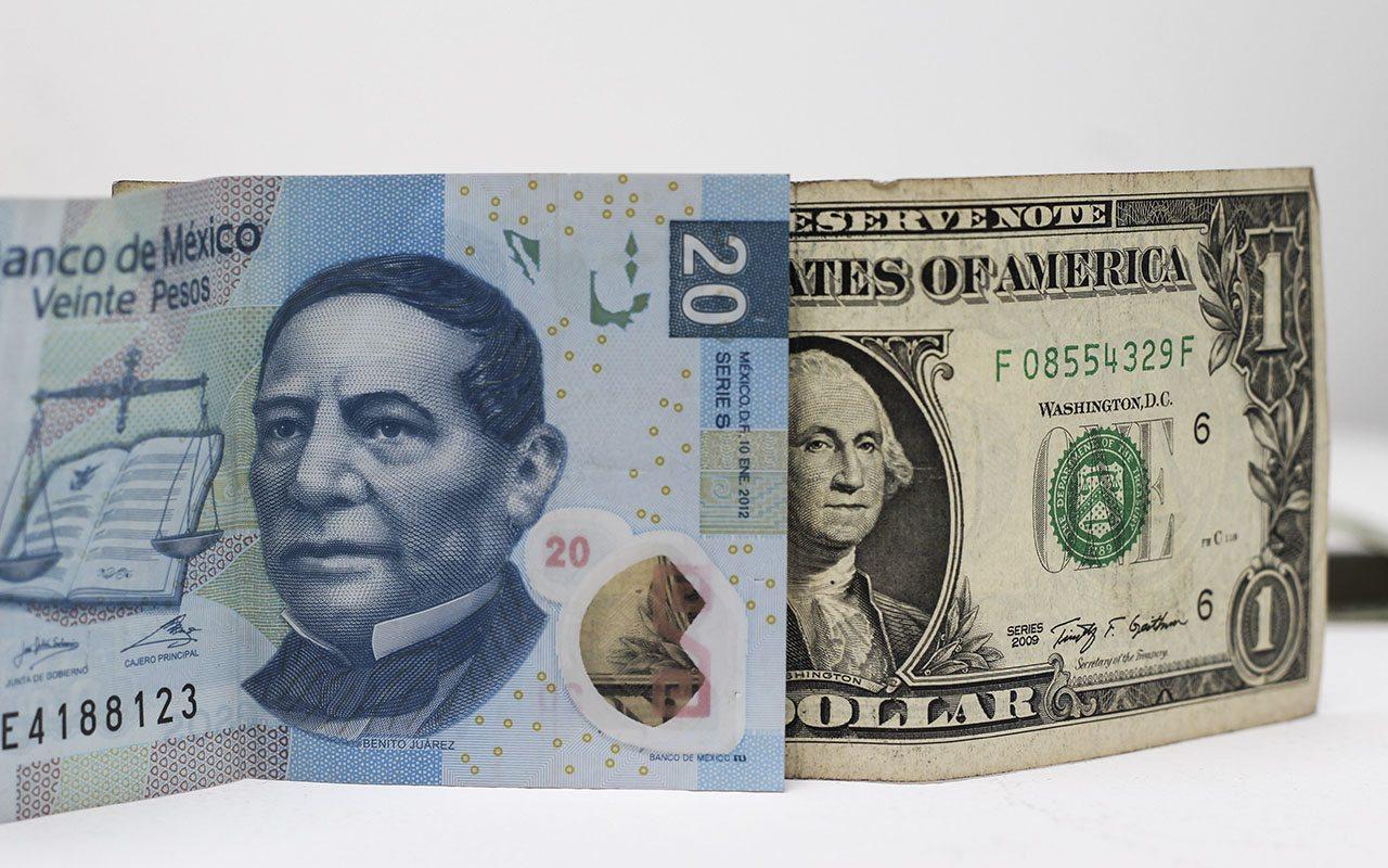 Dólar cierra hoy en $20.25 pesos
