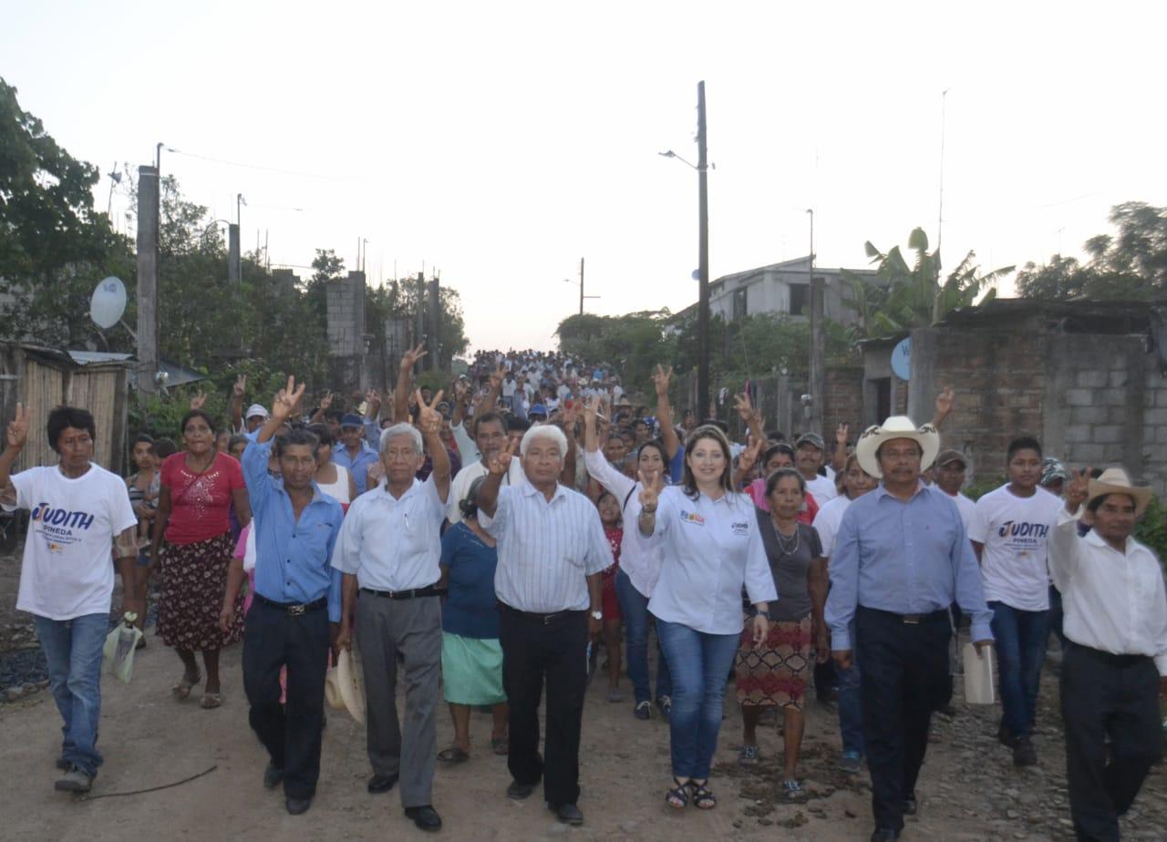 Promoverá Judith Pineda mejores programas sociales para las mujeres