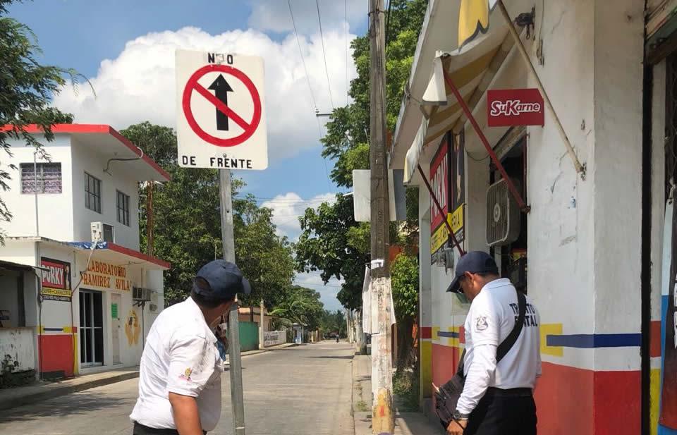 Buscan evitar confusión y accidentes en vialidad
