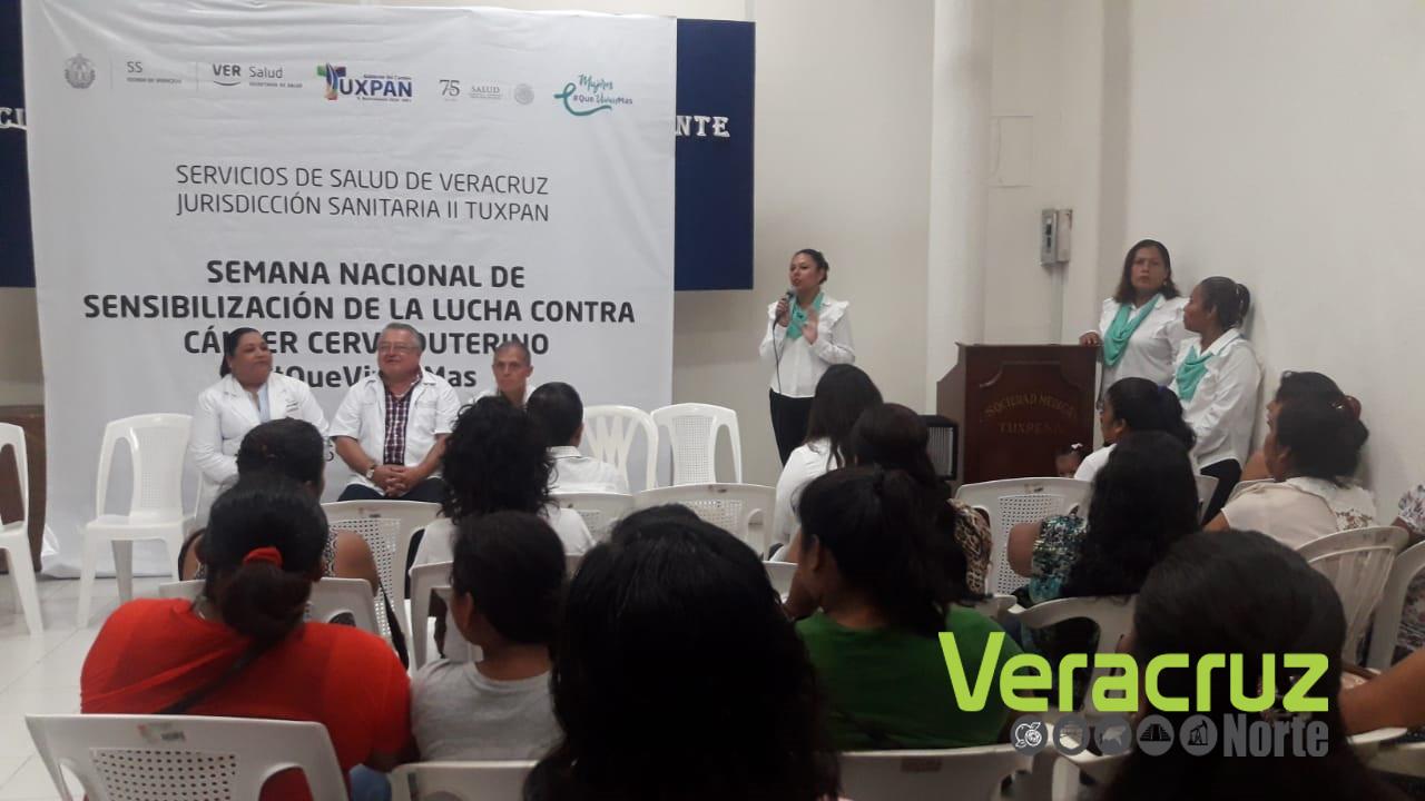 SEMANA NACIONAL DE CONCIENTIZACIÓN DEL CÁNCER CERVICOUTERINO.