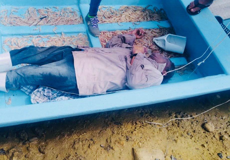 Muere de Infarto pescando en la Laguna de Tamiahua