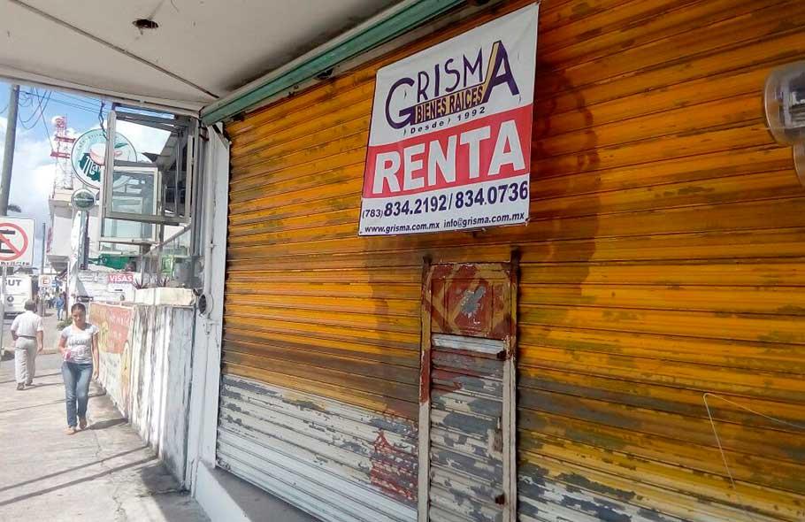 Crisis en micro-empresas tuxpeñas
