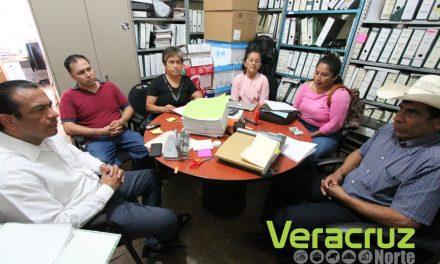 Atiende Sedarpa a integrantes de la CIOAC