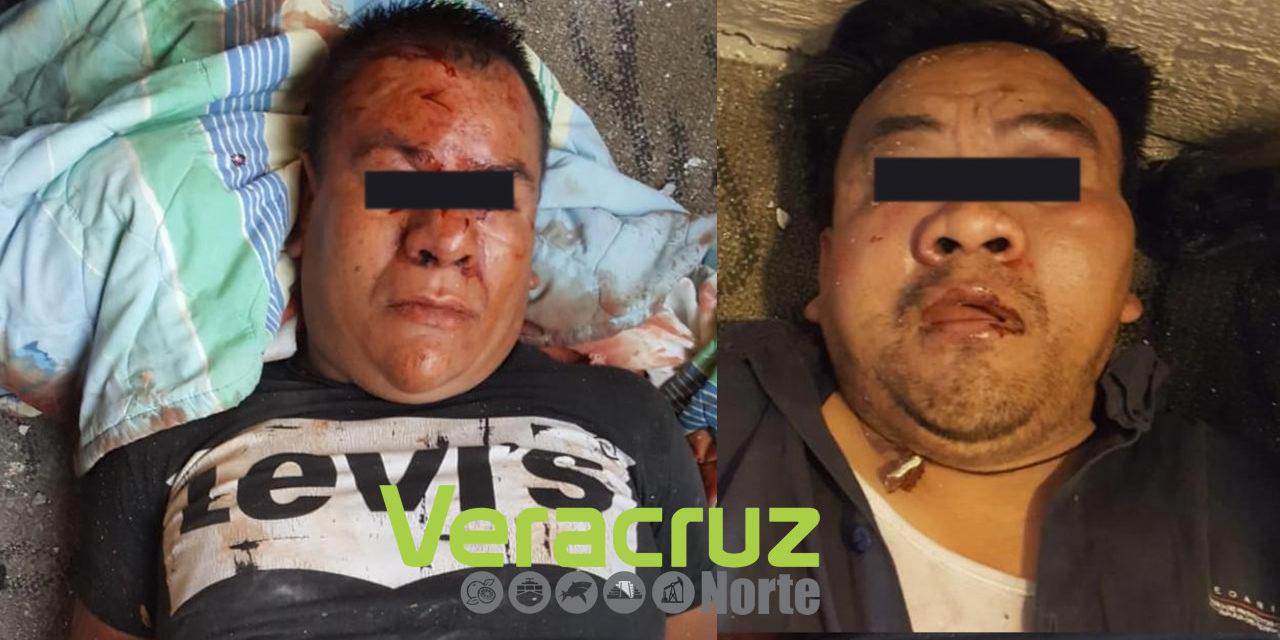 Grupo de Coordinación Veracruz libera a 2 víctimas de secuestro y captura a sus plagiarios, en Ixhuatlancillo