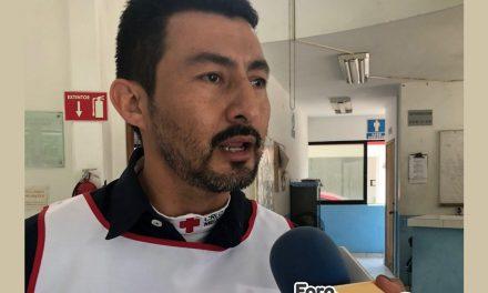 Cruz Roja Tuxpan atiende ruta Tamiahua