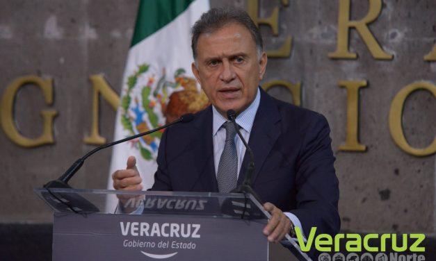 Mensaje del Gobernador Yunes sobre el caso Javier Duarte
