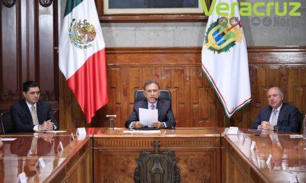 Gobernador Yunes Listo para iniciar el proceso de entrega-recepción el 1° de noviembre