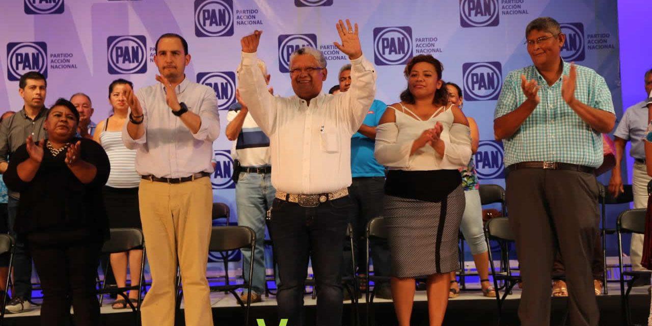 México requiere de un PAN más fuerte: Marko Cortés