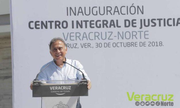 Seis nuevos Centros Integrales para mejorar la impartición de justicia en Veracruz: Gobernador Yunes