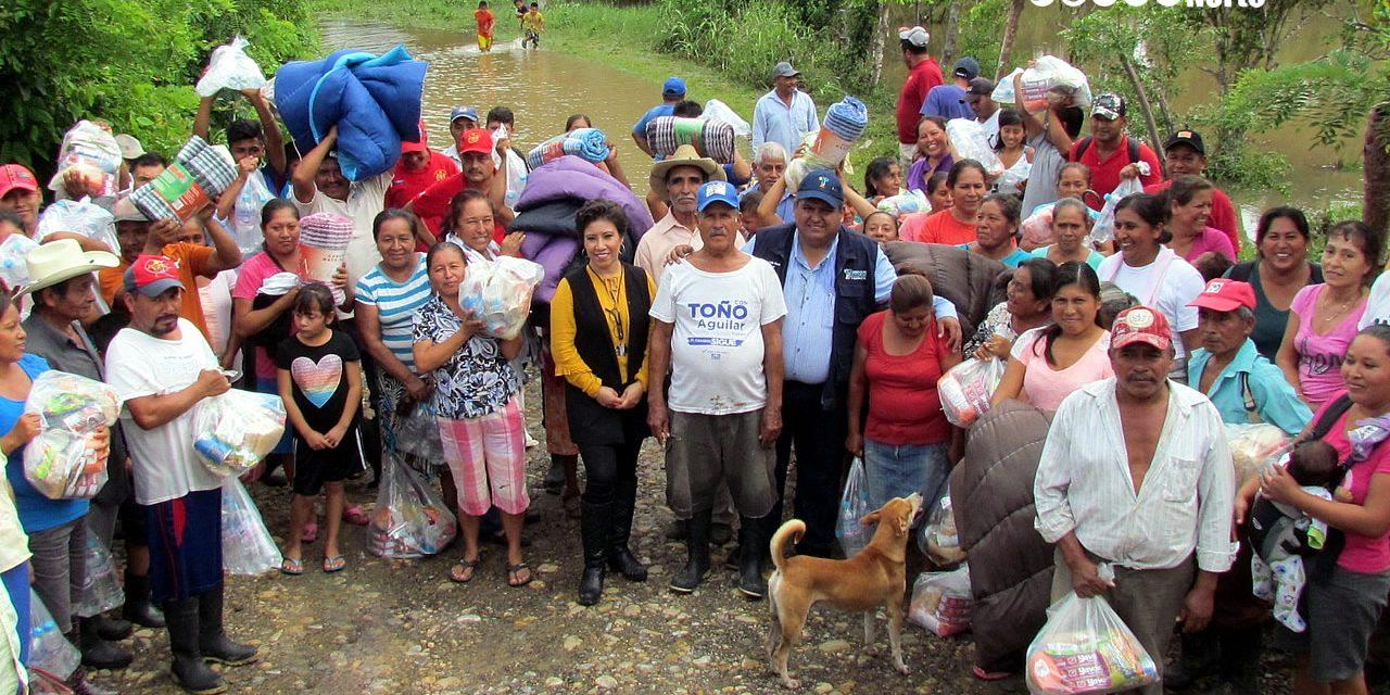 Ayuntamiento y DIF llevan ayuda a Familias incomunicadas, en la Joya