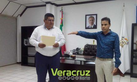 Nombran a nuevo Tesorero Municipal