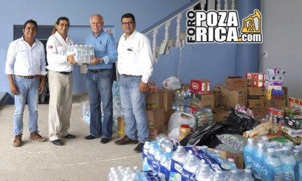 El Activo Bloque Norte 02, envió víveres  para damnificados en Álamo Temapache