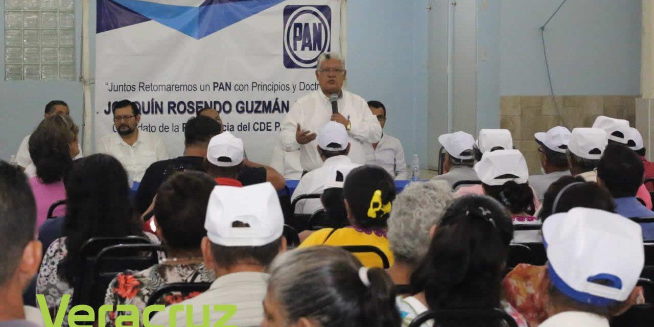 Ampliar el padrón de militantes: Joaquín Guzmán