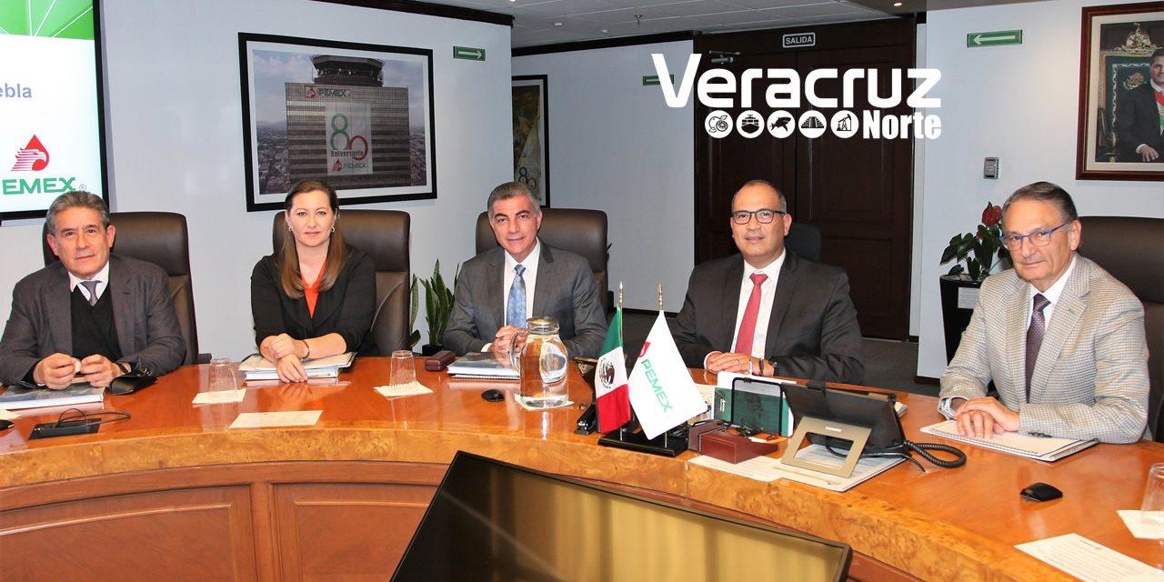 Pemex y el Gobierno de Puebla acuerdan impulsar acciones de Protección Civil para mitigar riesgos por robo de combustible