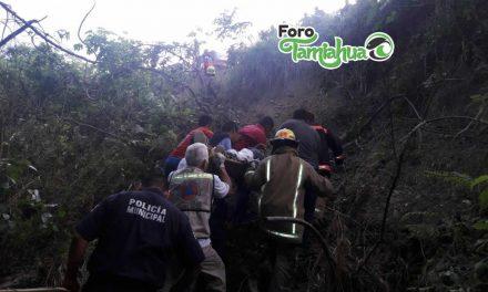 Terrible accidente en la entrada a Majahual