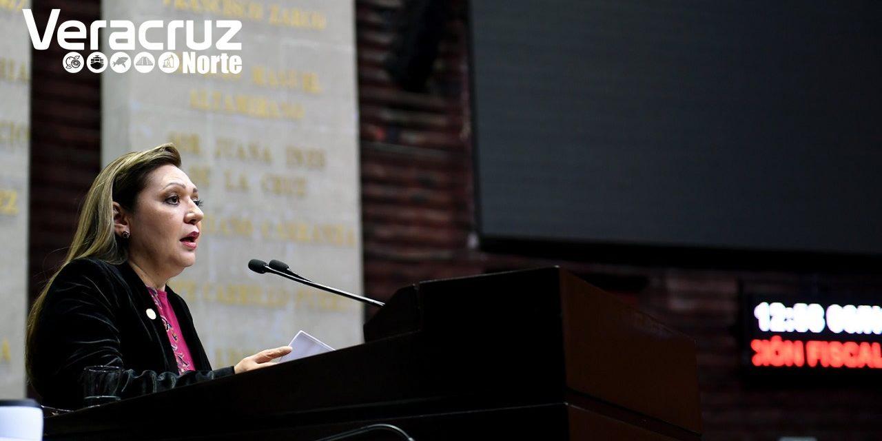 Presenta Rosario Guzmán iniciativa para reformar la Ley de Coordinación Fiscal