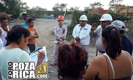 Pemex realizará taponamiento del pozo Poza Rica 166
