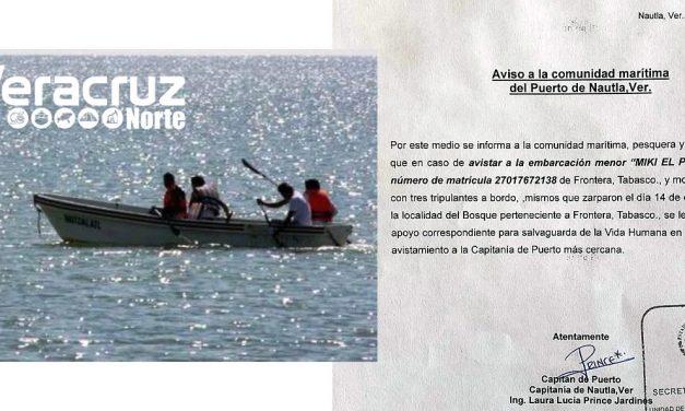 Buscan Náufragos de Tabasco