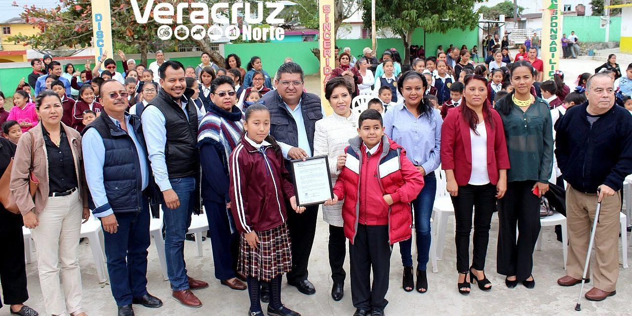 """Constancia de Posesión para primaria """"José Fernández Gómez"""""""