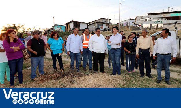 Inversión de 30 millones de pesos en introducción de drenaje