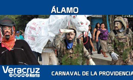 Álamo: Carnaval de La Providencia y sus máscaras artesanales