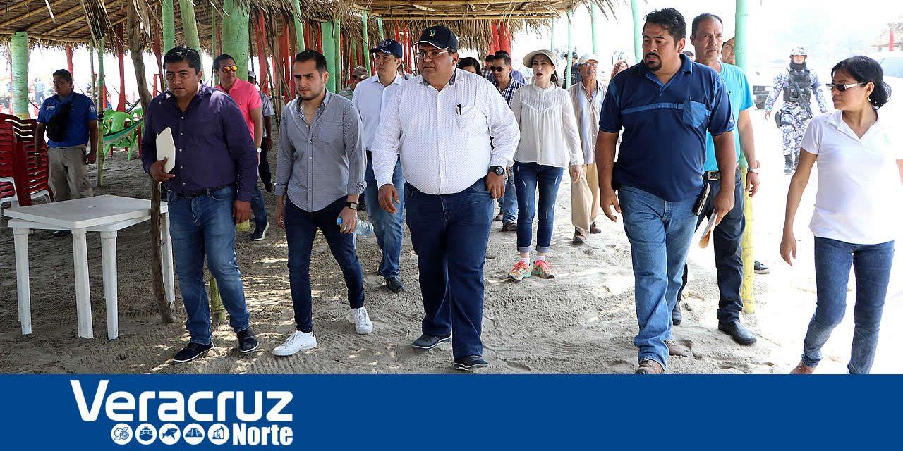 Alcalde Recorre Playa para Aplicar Acciones