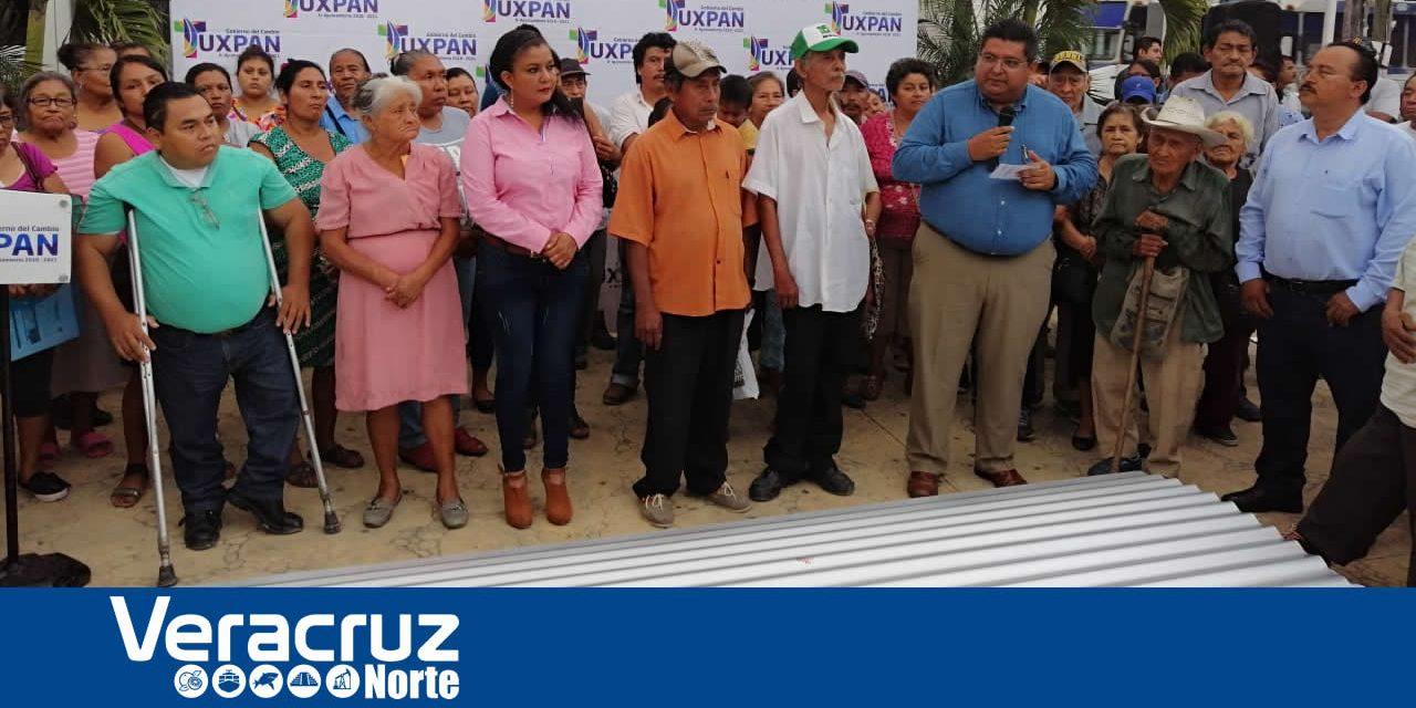 Alcalde cumple compromiso con familias vulnerables