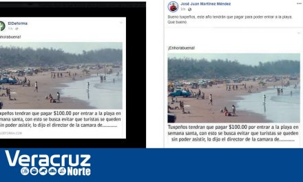 Falso supuesto cobro a playas