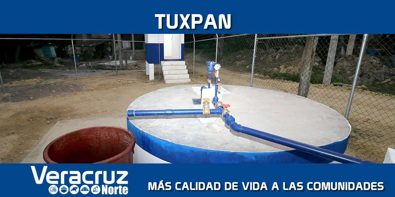 Tuxpan: Más calidad de vida a las comunidades