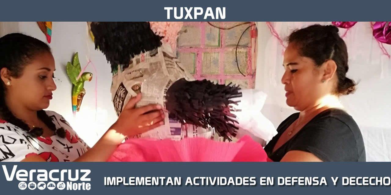 IMMTUX implementó actividades en defensa y derechos de las mujeres